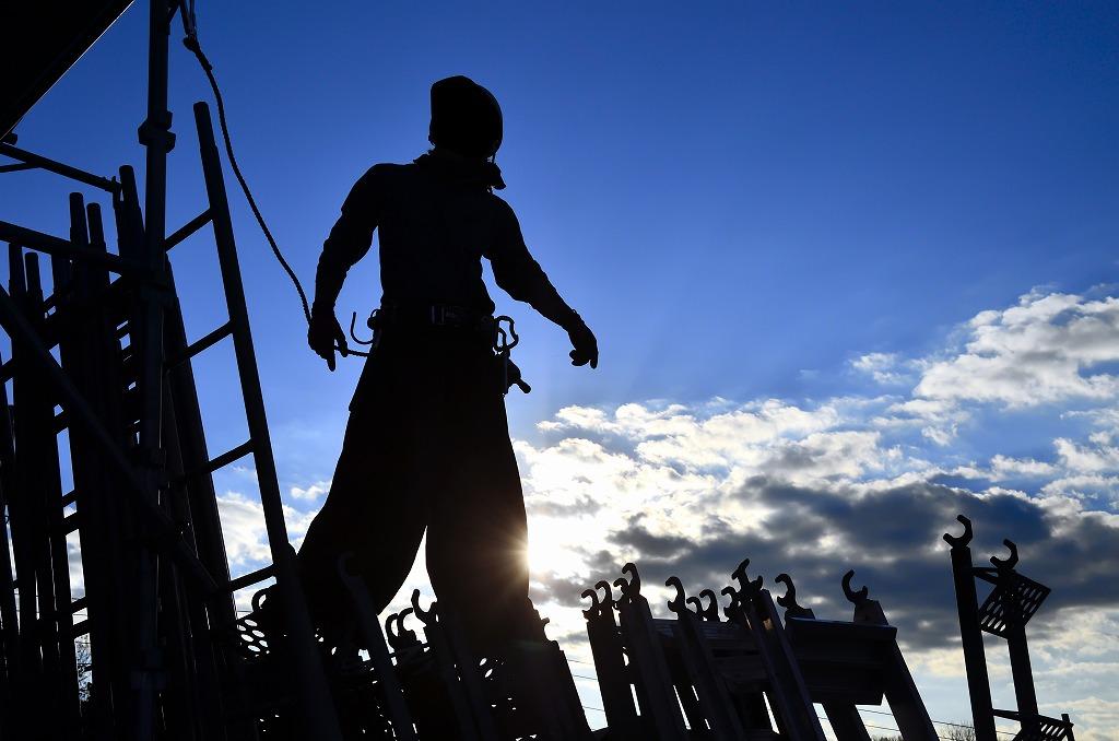 足場工事に向いている人の特徴